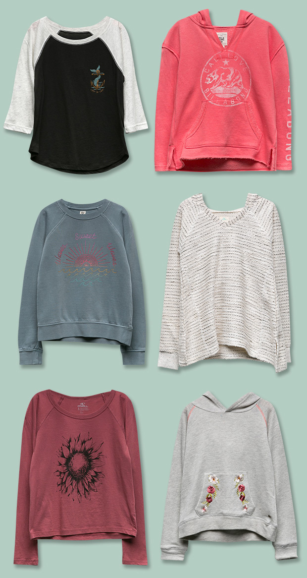 Girls Tops, Tees, Sweatshirts and more...