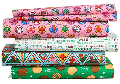 Girl Scouts Fabric.