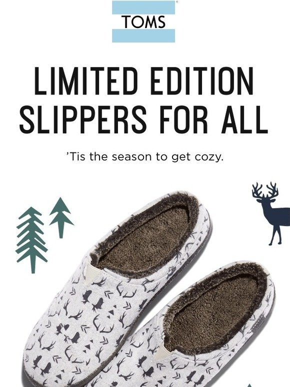 33a9e6939fa TOMS  Moose  Mooses  Meese  Slippers!