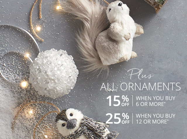 Plus: All ornaments!