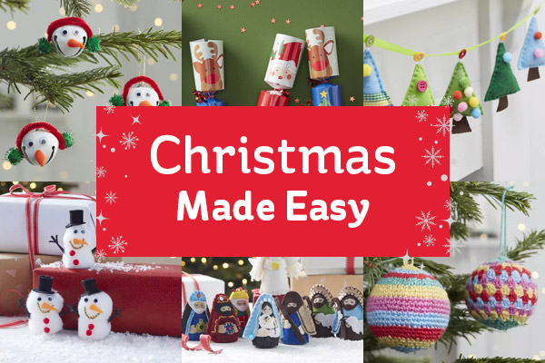 Hobbycraft the perfect kits for a crafty christmas milled christmas made easy solutioingenieria Images
