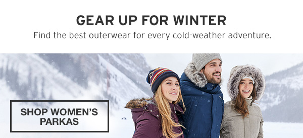 ANNUAL OUTERWEAR EVENT | SHOP WOMEN'S PARKAS