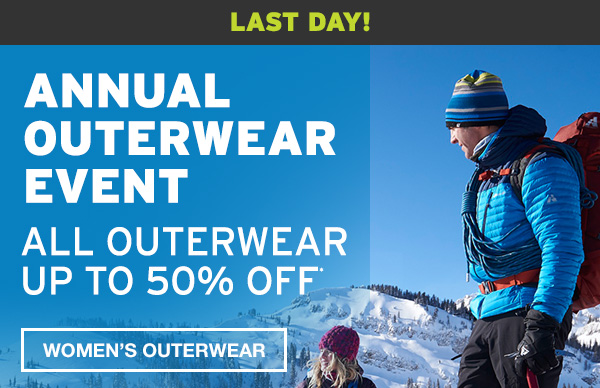 ANNUAL OUTERWEAR EVENT | WOMEN'S OUTERWEAR