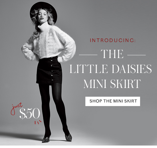 Shop the Little Daises Mini Skirt