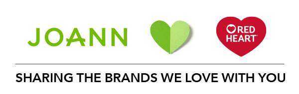 JOANN loves Red Heart. Sharing the brands we love with you.