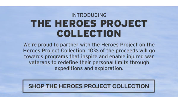 SHOP THE HEROES PROJECT COLLECTION