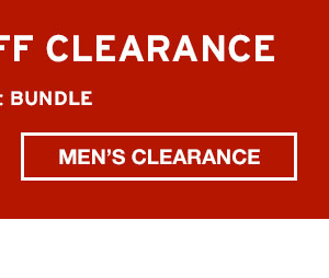 EXTRA 40% OFF CLEARANCE   SHOP MEN'S CLEARANCE