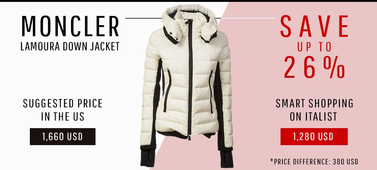 31721d1afca Italist  Save  380 on Iconic MONCLER Jacket! Winter 2018 Fashion ...