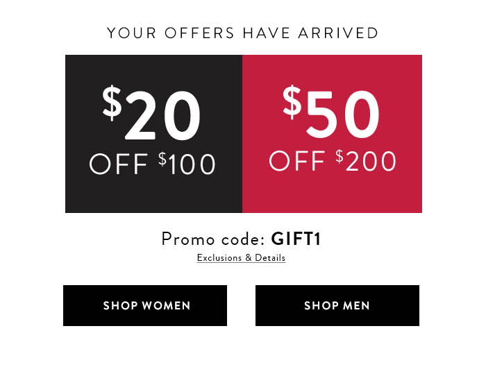 photograph relating to Sunglass Hut Printable Coupons called Macys: Receive $20 or $50 off at Sungl Hut at Macys Milled