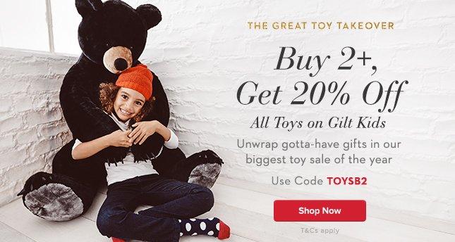 Buy 2+, Get 20% Off