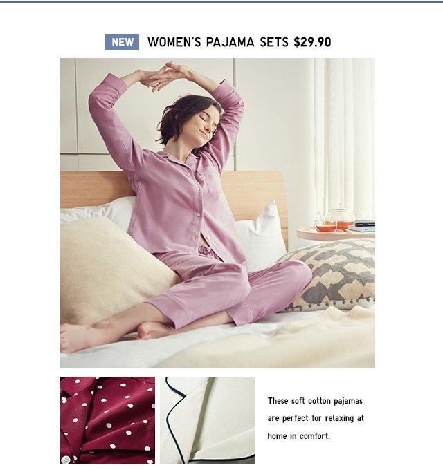 NEW! Pajama Sets $29.90- Shop Women
