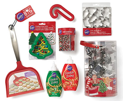 Wilton Christmas Foodcrafting Supplies.