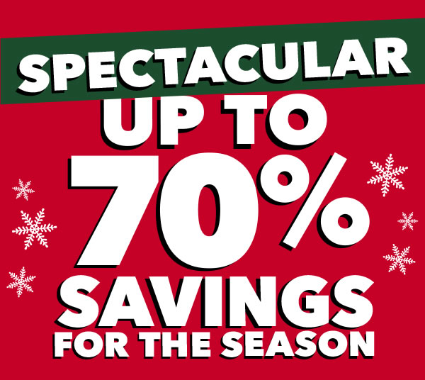 Only 2 Days Left! Use Your 70 percent off Coupons and Enjoy Mega-Savings.