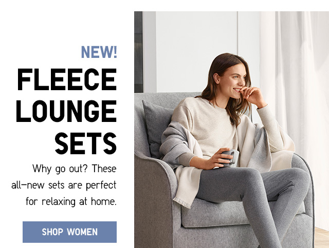 NEW! Fleece Lounge Sets - Shop Women
