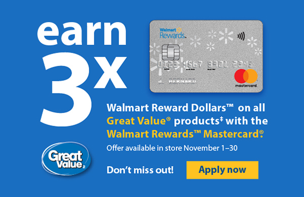 Walmart Canada Don T Miss Out On Your Chance To Earn 3x Walmart