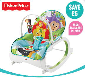 Fisher-Price Infant-to-Toddler Rocker Green