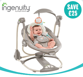 Ingenuity ConvertMe Swing-2-Seat Portable Swing Candler