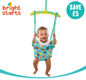 Bright Starts Kaleidoscope Safari Baby Door Jumper