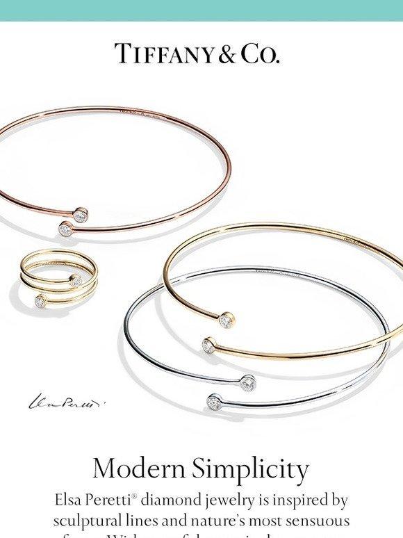 75e24a66a7e Tiffany  Stack Up with New Elsa Peretti Diamond Hoop Designs