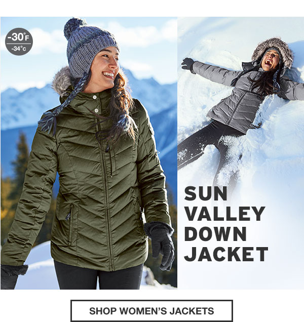 SUN VALLEY DOWN COLLECTION | SHOP WOMEN'S JACKETS