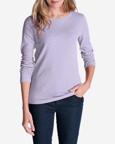 Womens Favorite Long-Sleeve Crewneck T-Shirt