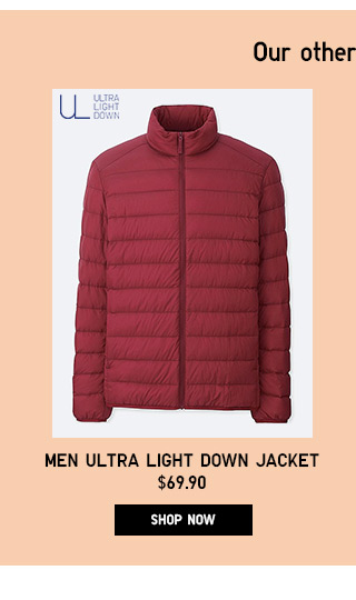 Men Ultra Light Down Jacket - Shop Now