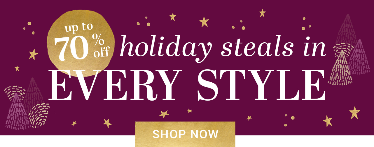 holiday shop by style