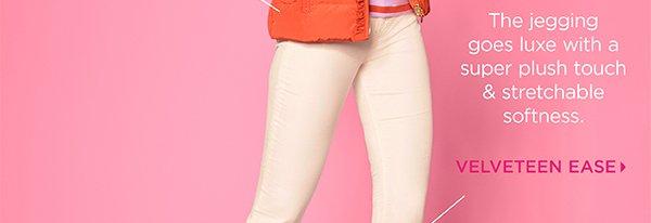 Ivory & Pink + Squash. Velveteen Ease