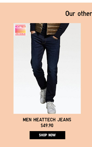 Men HEATTECH Jeans - Shop Now