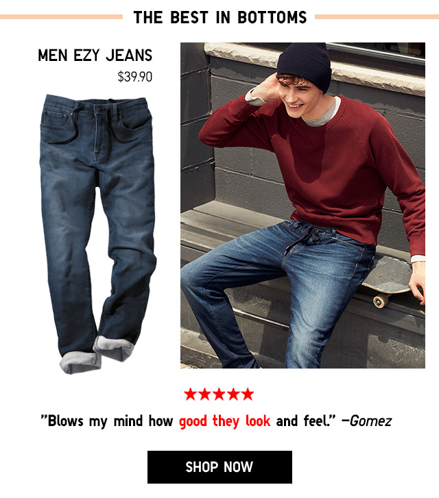 Men EZY Jeans $39.90 - Shop Now