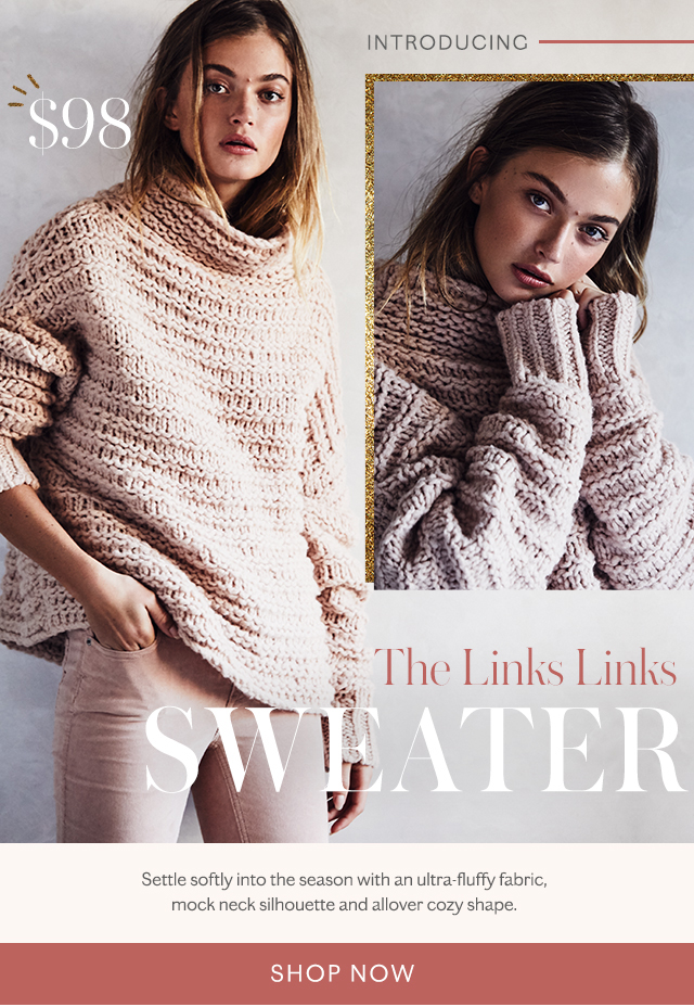 Shop the Links Links Sweater