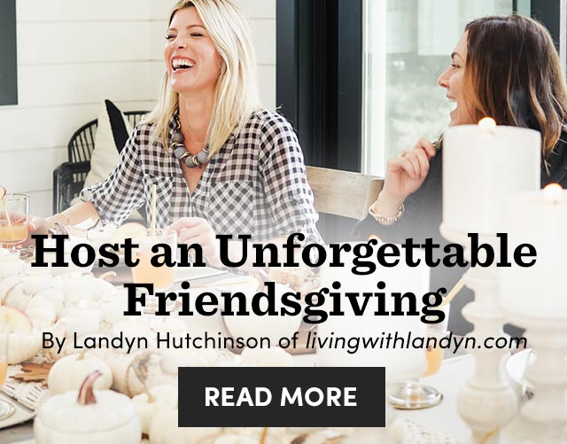 Host An Unforgettable Friendsgiving ›
