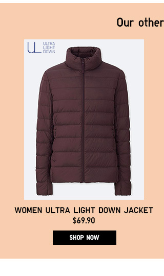 Women Ultra Light Down Jacket - Shop Now
