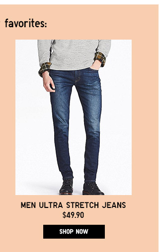 Men Ultra Stretch Jeans - Shop Now