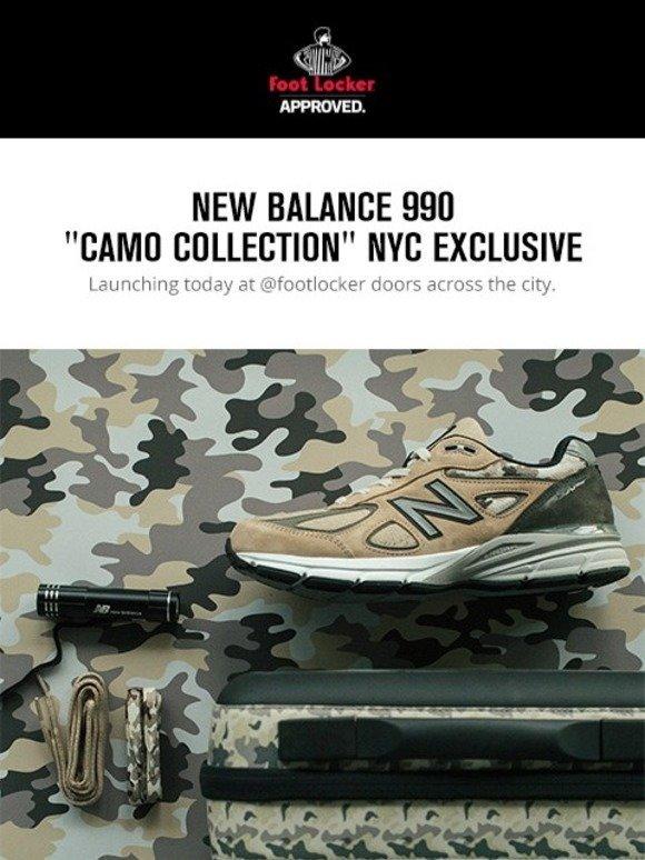 new balance 990 camo