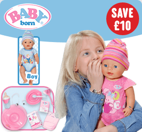 New BABY Born Interactive Girl Doll