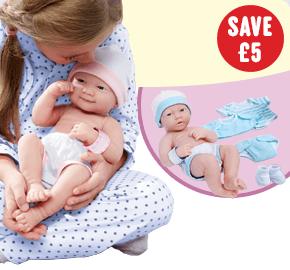 La Newborn Gift Set Girl