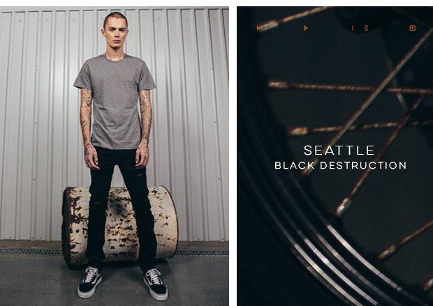 Seattle Black Destruction, Seattle Moto...