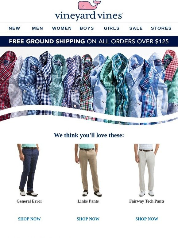 04064841 Vineyard Vines: Come on, make a move... | Milled