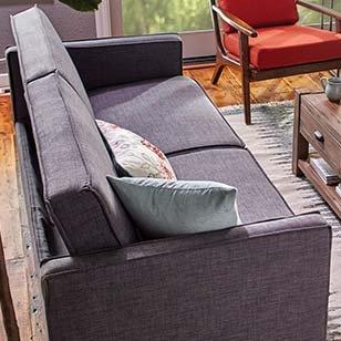 Charcoal Gray Nolee Sofa - $449.99 ›
