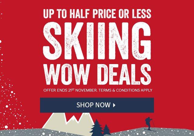 Ski WOW Deals!