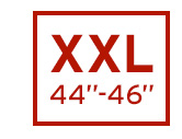 "MEN | XXL | 44""-46"""