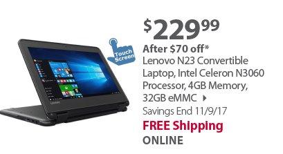 Lenovo N23 Convertible Laptop
