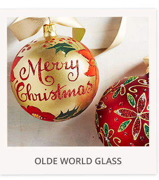 Olde world glass
