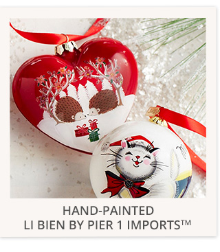 Hand-painted Li Bien by Pier 1 Imports