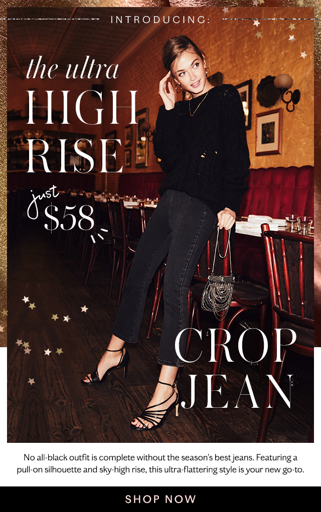 Introducing the Crop Jean