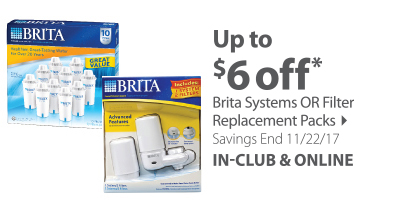 Brita systems or Replacement Packs