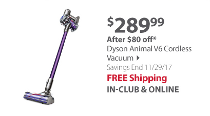 Dyson Animal V6 Cordless Vacuum