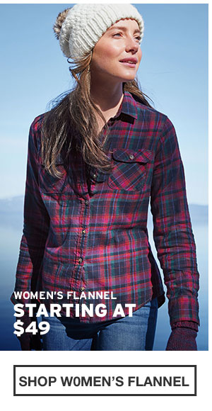 SHOP WOMEN'S FLANNEL