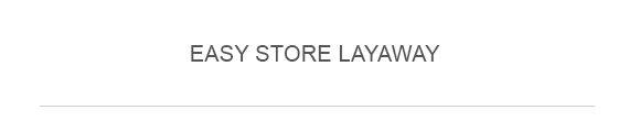 Easy Store Layaway